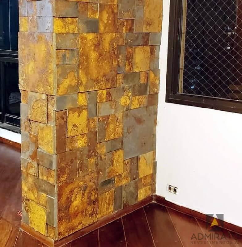 Revestimento 3D Mosaico Huron Ferox Admirato