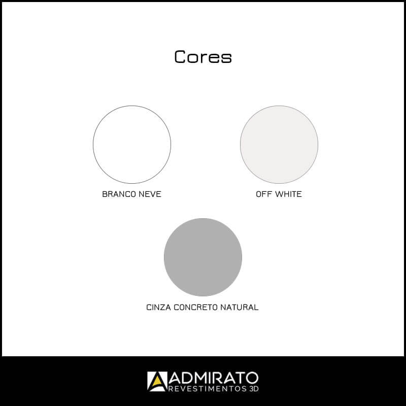 Branco Neve – Off White – Cinza Concreto Natural