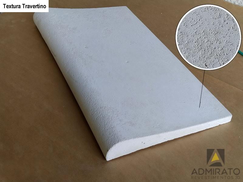 Borda Atérmica Textura Travertino